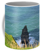 The Needle Off The Cliff's Of Moher In Ireland Coffee Mug