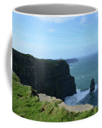 The Needle Rock Formation On The Cliff's Of Moher Coffee Mug