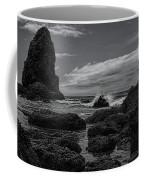 The Needles Black And White Coffee Mug