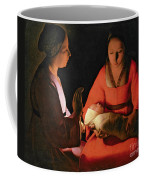 The New Born Child Coffee Mug by Georges de la Tour