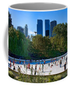 The New York Central Park Ice Rink  Coffee Mug