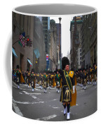 The New York City Police Emerald Society Pipe And Drum Corps Coffee Mug