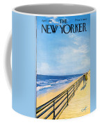The New Yorker Cover - April 1st, 1967 Coffee Mug