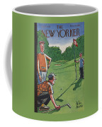 The New Yorker Cover - August 25th, 1956 Coffee Mug