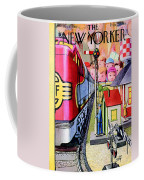 The New Yorker Cover - December 17th, 1955 Coffee Mug