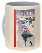 The New Yorker Cover - December 19th, 1942 Coffee Mug