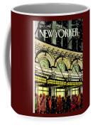 The New Yorker Cover - January 18th, 1988 Coffee Mug