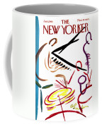 The New Yorker Cover - January 6th, 1968 Coffee Mug