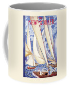 The New Yorker Cover - July 9th, 1949 Coffee Mug