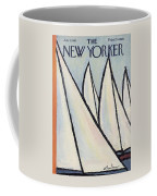 The New Yorker Cover - June 1st, 1963 Coffee Mug