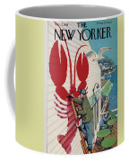 The New Yorker Cover - March 22, 1958 Coffee Mug
