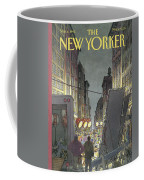 The New Yorker Cover - March 8th, 1993 Coffee Mug