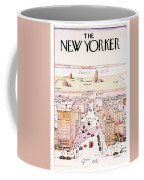 The New Yorker - Magazine Cover - Vintage Art Nouveau Poster Coffee Mug