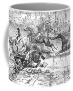 The Newport Pagnel Steeple Chase Coffee Mug