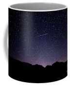 The Night Landscape View And The Stars At Tuttle Creek, Lone Pin Coffee Mug