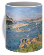 The Nile Near Aswan Coffee Mug