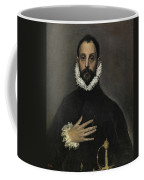 The Nobleman With His Hand On His Chest Coffee Mug