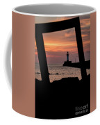 The North Pier Lighthouse Coffee Mug
