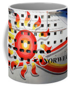 The Norwegian Sun Bow Coffee Mug by Susanne Van Hulst