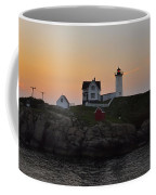 The Nubble Lighthouse Vertical Coffee Mug