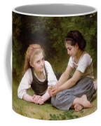 The Nut Gatherers Coffee Mug by William-Adolphe Bouguereau