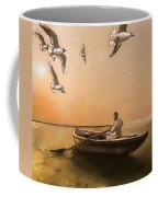 The Oarsman Coffee Mug