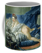 The Odalisque Coffee Mug by Francois Boucher
