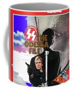 The Odessa File Jon Voight Foreign Theatrical Poster 1974 Color Added 2016 Coffee Mug