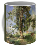 The Old Ash Tree Coffee Mug by Edward Arthur Walton