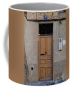 The Old Door. Coffee Mug
