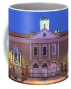 The Old Exchange And Provost Dungeon At Twilight Charleston South Carolina Coffee Mug