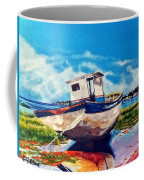 The Old Fishing Boat Coffee Mug