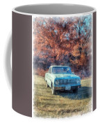 The Old Ford On The Side Of The Road Coffee Mug