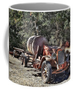 The Old Jalopy In Wine Country, California  Coffee Mug
