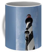 The Old Lantern And The Lighthouse Coffee Mug