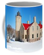 The Old Mackinac Point Lighthouse Coffee Mug