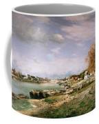 The Old Quay At Bercy Coffee Mug