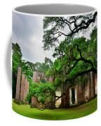 The Old Sheldon Church Ruins Coffee Mug