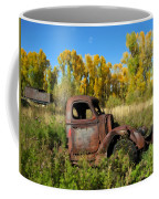 The Old Truck  Chama New Mexico Coffee Mug