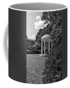 The Old Well At Chapel Hill In Black And White Coffee Mug