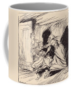 The Old Woman Seized Her By The Gown Coffee Mug