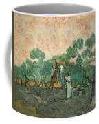 The Olive Pickers Coffee Mug by Vincent van Gogh