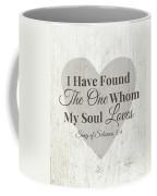 The One Whom My Sould Loves- Art By Linda Woods Coffee Mug