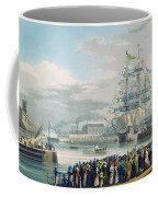 The Opening Of Saint Katharine Docks Coffee Mug