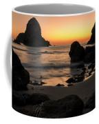 The Orange Glow At Whaleshead Coffee Mug