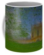 Fairytale Castle On A Meadow. Coffee Mug