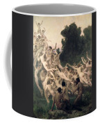 The Oreads Coffee Mug by William-Adolphe Bouguereau