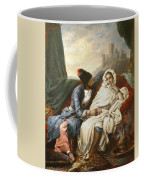 The Oriental Beauty And The Cossack Coffee Mug