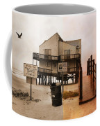 The Osprey And The Pelican Coffee Mug