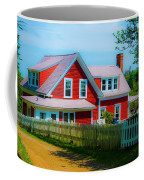 The Other Red House Monhegan Coffee Mug